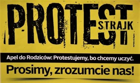 Informacja o strajku