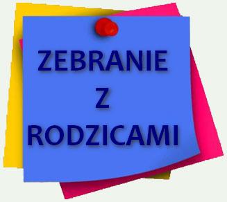Plan zebrań i konsultacji w roku szkolnym  2019/2020