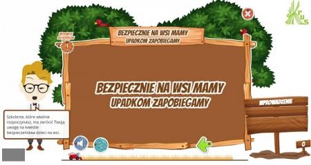 Szkolenie dla dzieci o bezpieczeństwie w formie zabawy - KRUS