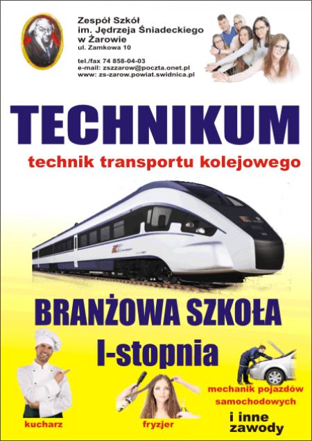 Oferta edukacyjna Zespołu Szkół w Żarowie